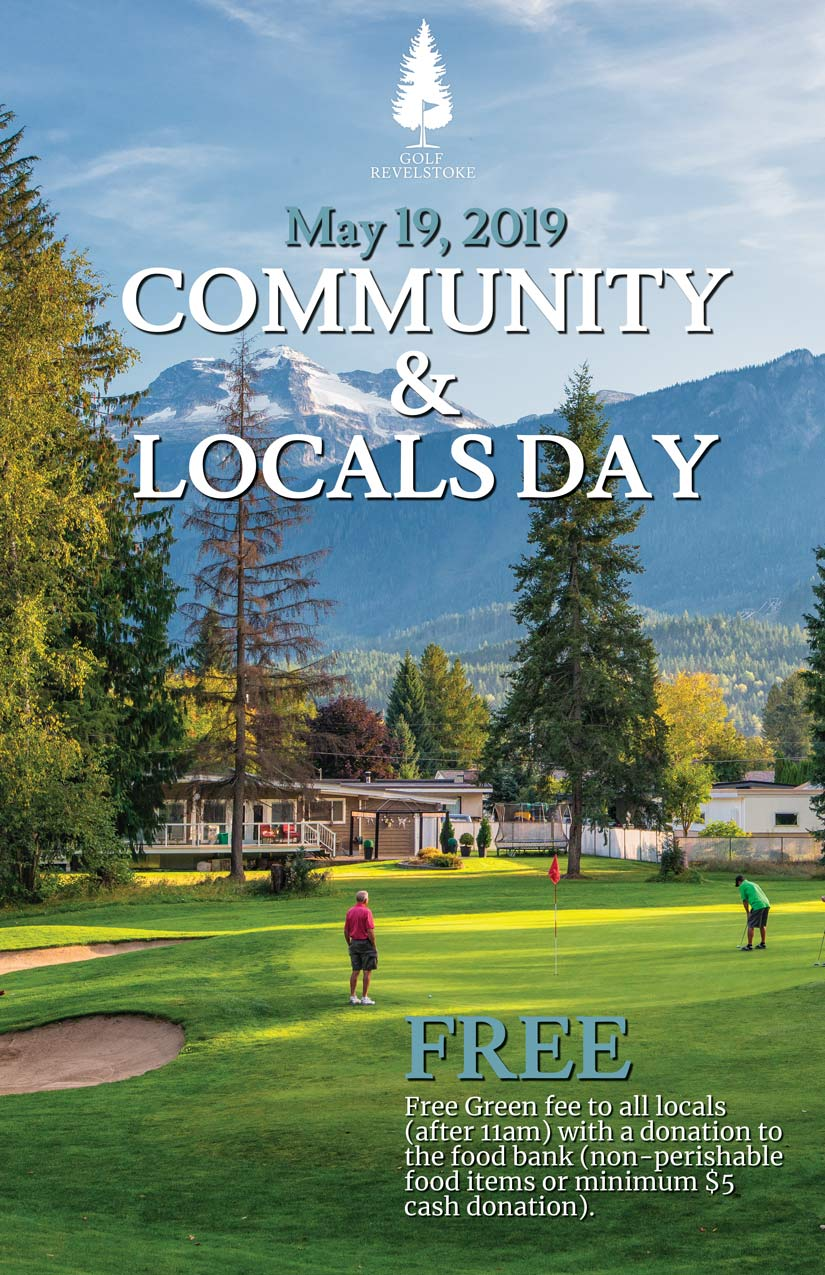 Community (Locals) Day @ Revelstoke Golf Club