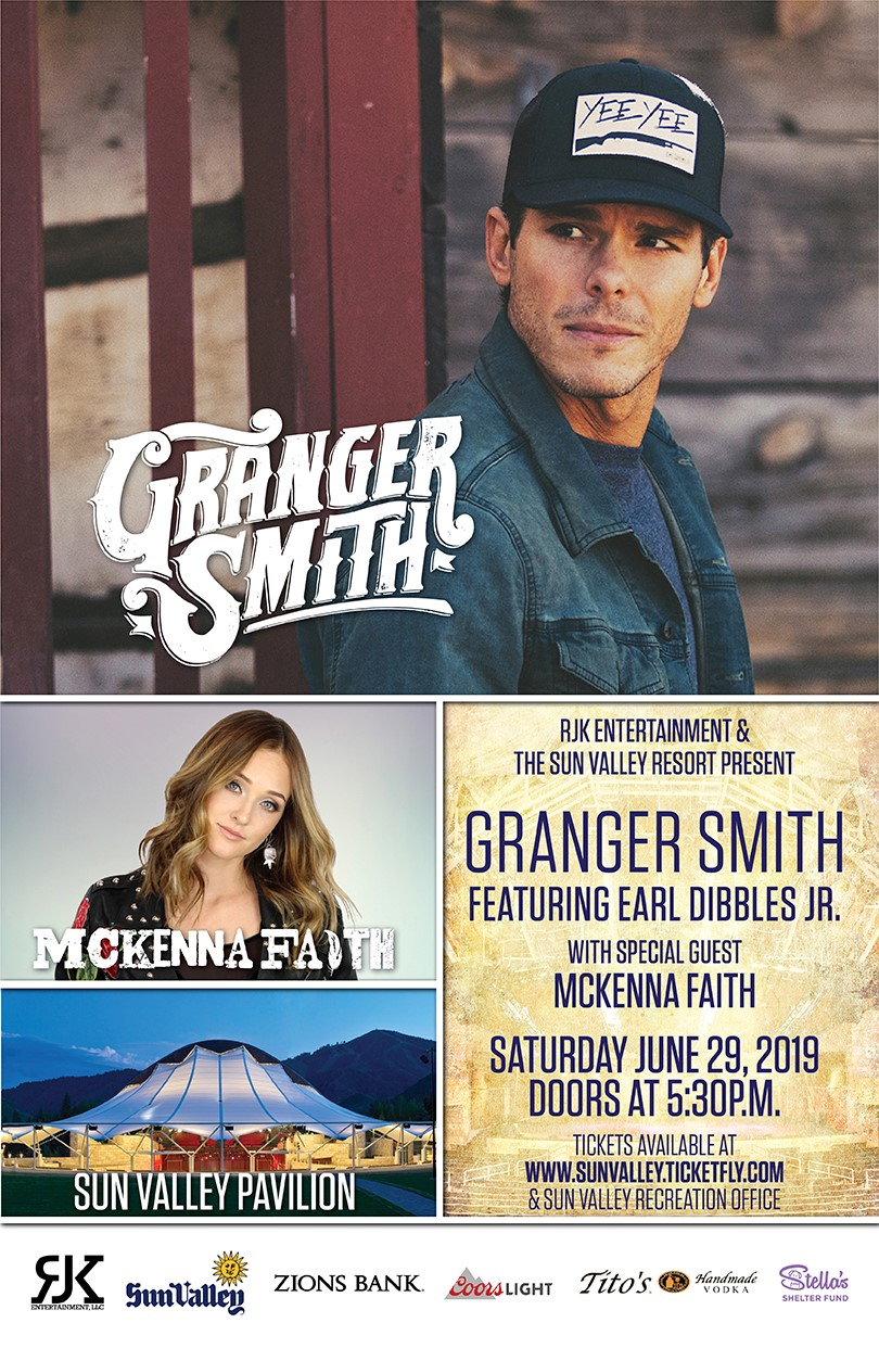 Granger Smith feat. Earl Dibbles, Jr with special guest McKenna Faith @ Sun Valley Pavilion