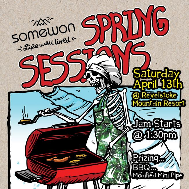 SomewonCollective - Spring Sessions @ Revelstoke Mountain Resort |  |  |