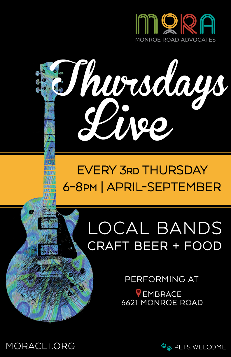 Thursdays Live music series @ Embrace (sculpture)