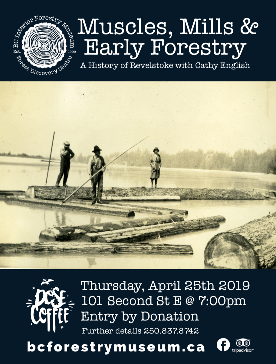 Muscles, Mills & Early Forestry @ DOSE Coffee |  |  |