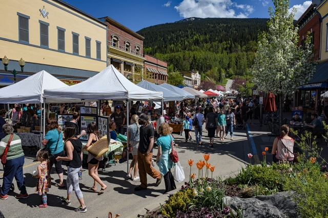 Revelstoke Local Food Initiative Farm & Craft Market @ Downtown Revelstoke