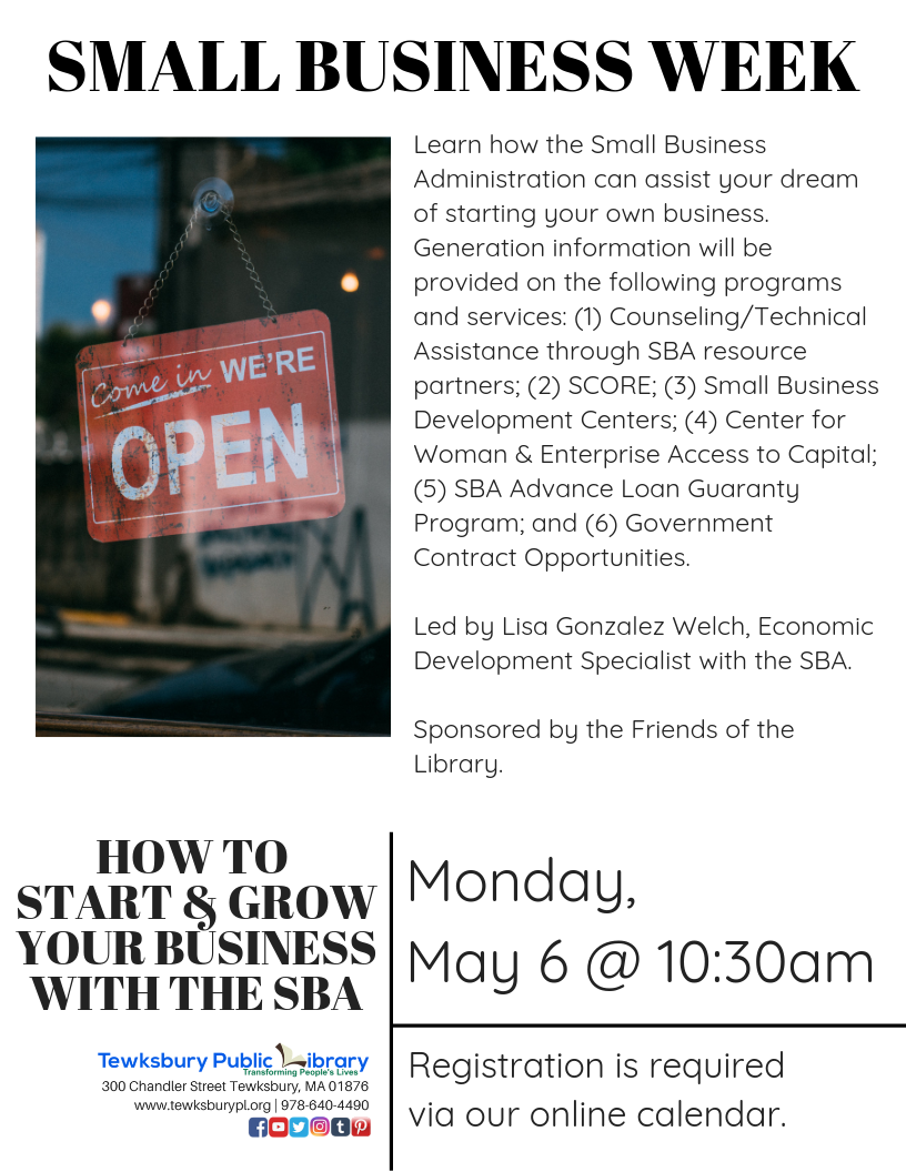 SMALL BUSINESS WEEK: How To Start & Grow Your Own Business