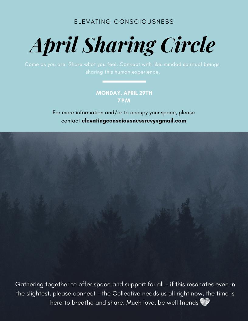 Community Sharing Circle @ Feel Good Collective        