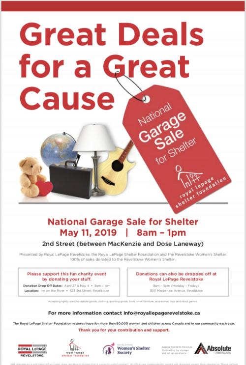 NATIONAL GARAGE SALE FOR SHELTER @ NATIONAL GARAGE SALE FOR SHELTER |  |  |