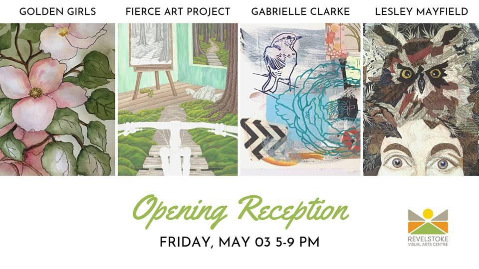 Exhibition Opening @ Revelstoke Visual Arts Centre        