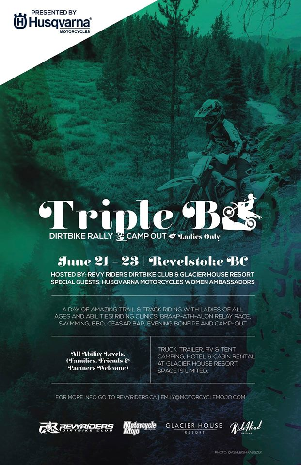 Triple B Dirtbike Rally @ Glacier House Hotel & Resort |  |  |