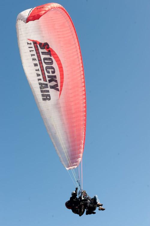 Paraglide-Tandem-Flights @ Spieljoch