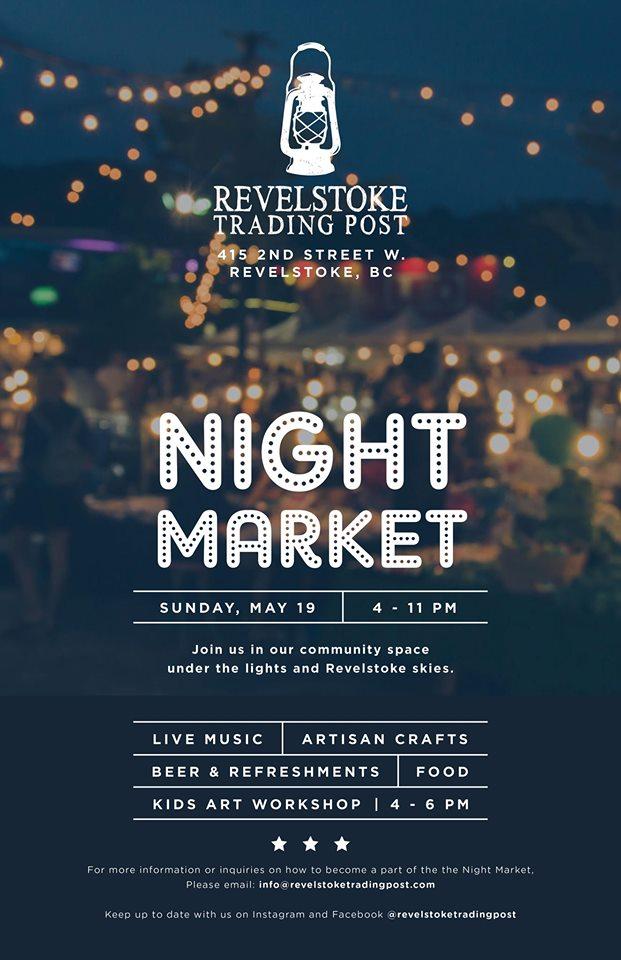 Night Market @ Revelstoke Trading Post