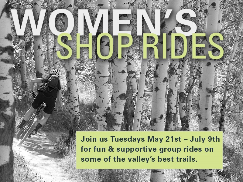 Women's Shop Rides @ Various Locations