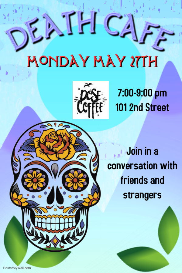 May Death Cafe @ Dose |  |  |