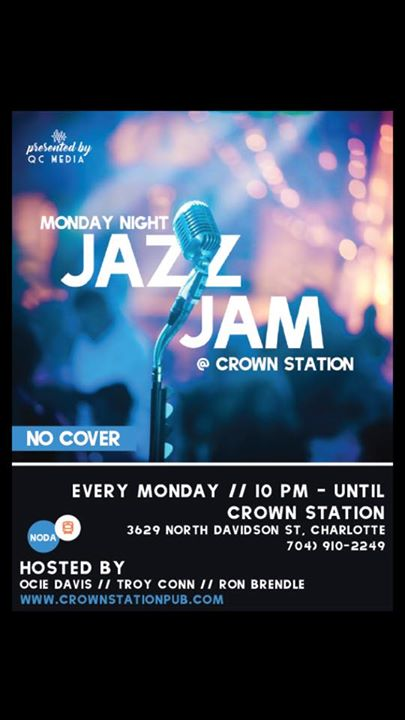 Jazz Monday's @ Crown Station Coffee Hour & Pub