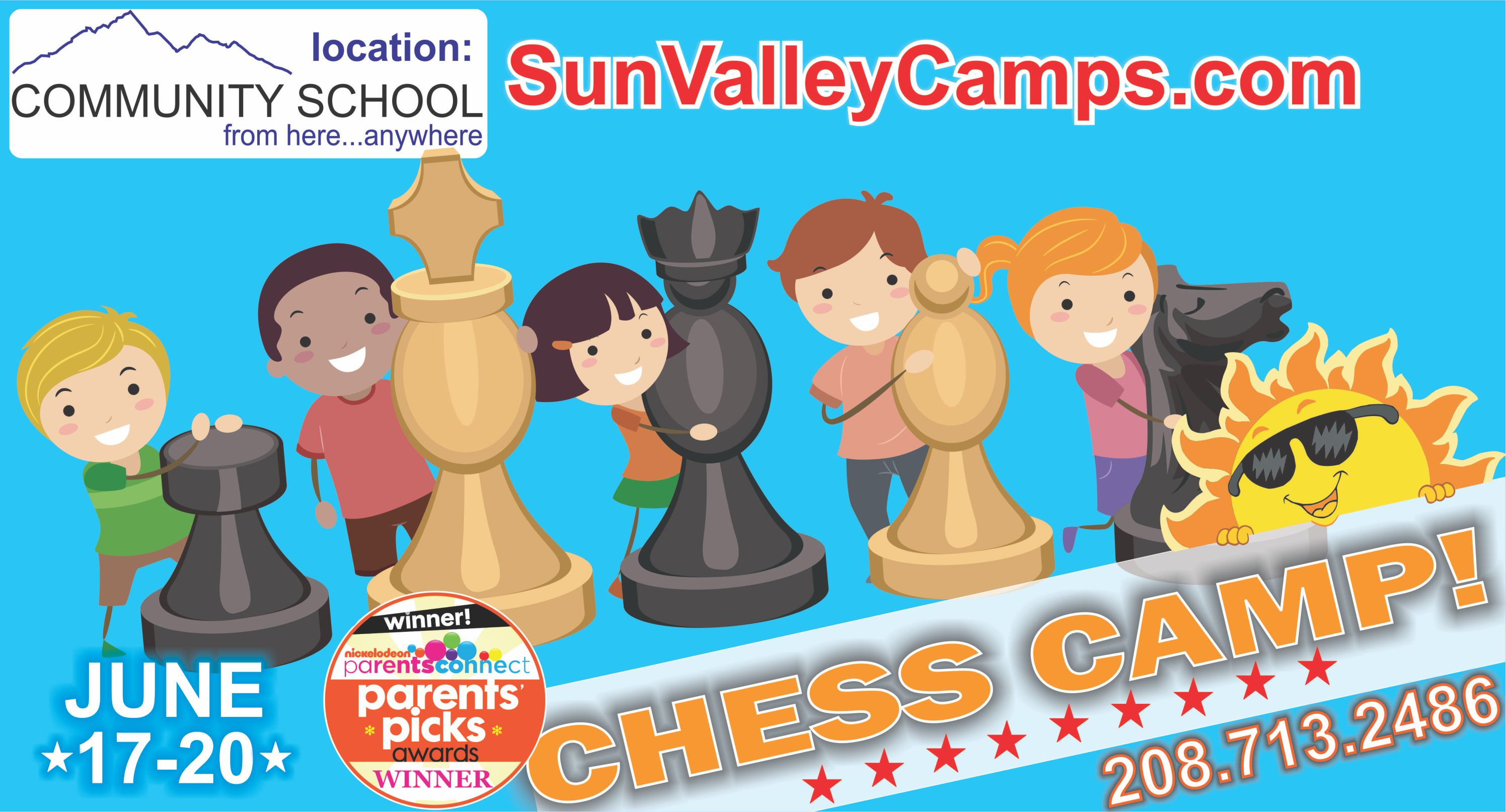 Mighty All-Stars Chess and Minecraft Camp! @ Community School
