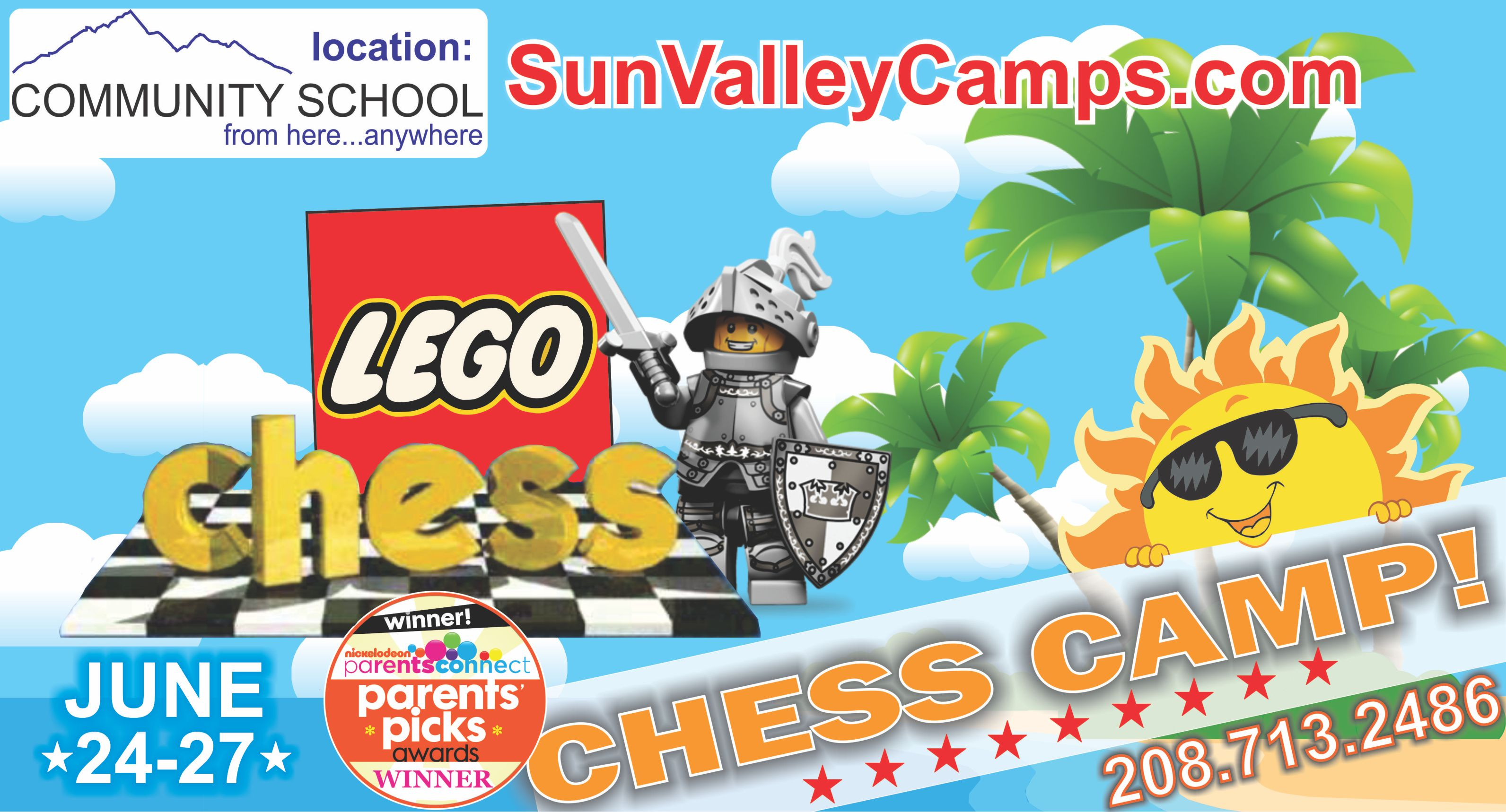 Adventure Chess and LEGO Camp! @ Community School