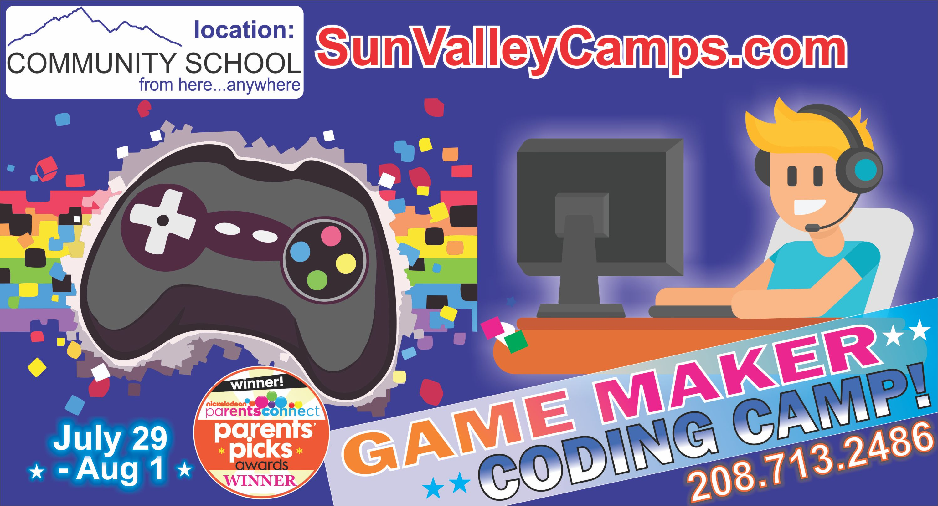 Super-Stars Chess and Game Coding Camp! @ Community School