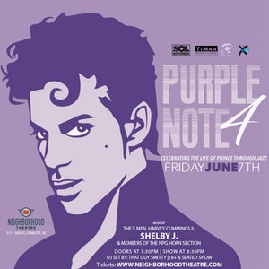 PURPLE NOTE 4: Celebrating The Life Of Prince Through Jazz @ Neighborhood Theatre
