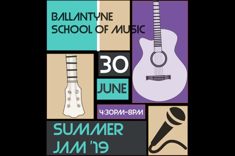 BALLANTYNE SCHOOL OF MUSIC PRESENTS: SUMMER JAM '19 @ Visulite Theatre