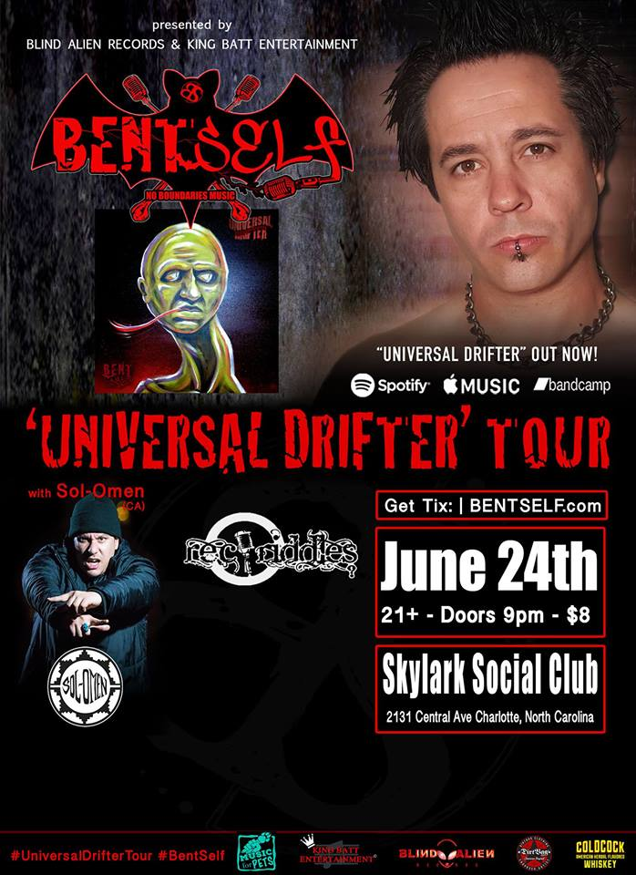 Bent Self 'Universal Drifter Tour @ Skylark Social Club