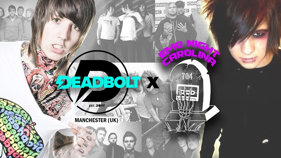 Deadbolt (UK) X Emo Night Carolina / MySpace Party @ Skylark Social Club