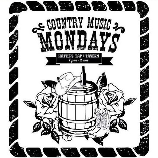 Country Music Monday at Hattie's @ Hattie's Tap & Tavern
