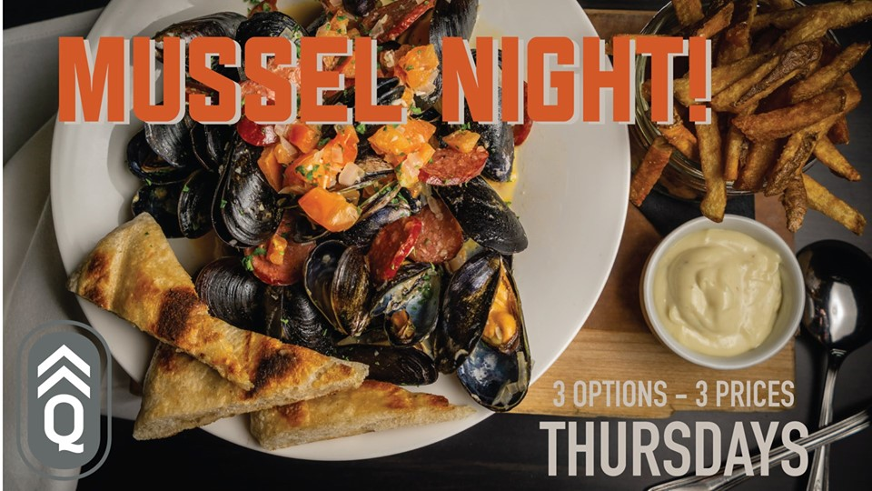 Mussel Night! @ Quartermaster Eatery |  |  |