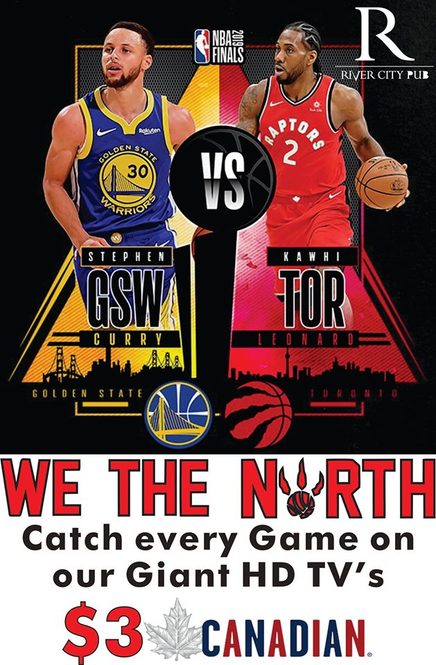 Come cheer on the Raptors! @ River City Pub |  |  |