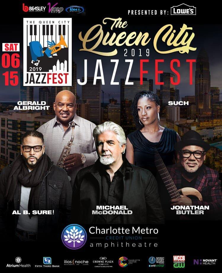 5th annual Queen City Jazz Fest presented by Lowes'! @ Charlotte Metro Credit Union Amphitheatre