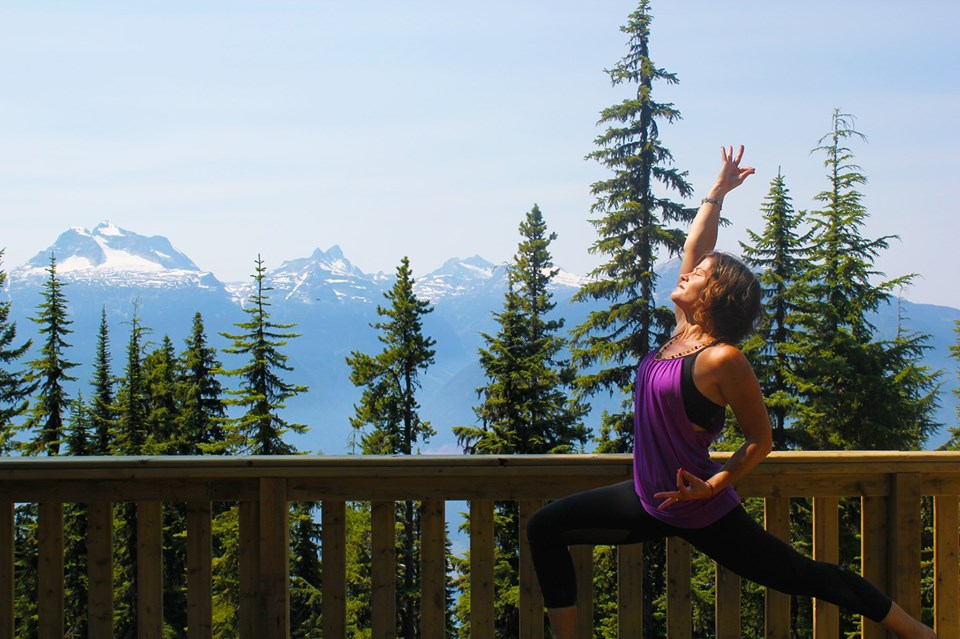Yoga in the Plaza @ Revelstoke Mountain Resort