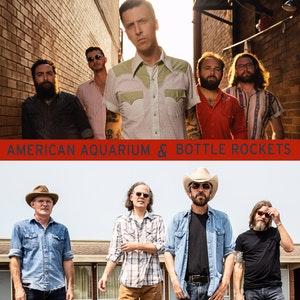 AMERICAN AQUARIUM + BOTTLE ROCKETS @ Neighborhood Theatre