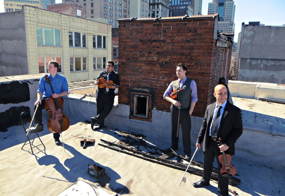 WDAV's Small Batch Concert Series: Beo String Quartet @ Free Range Brewing