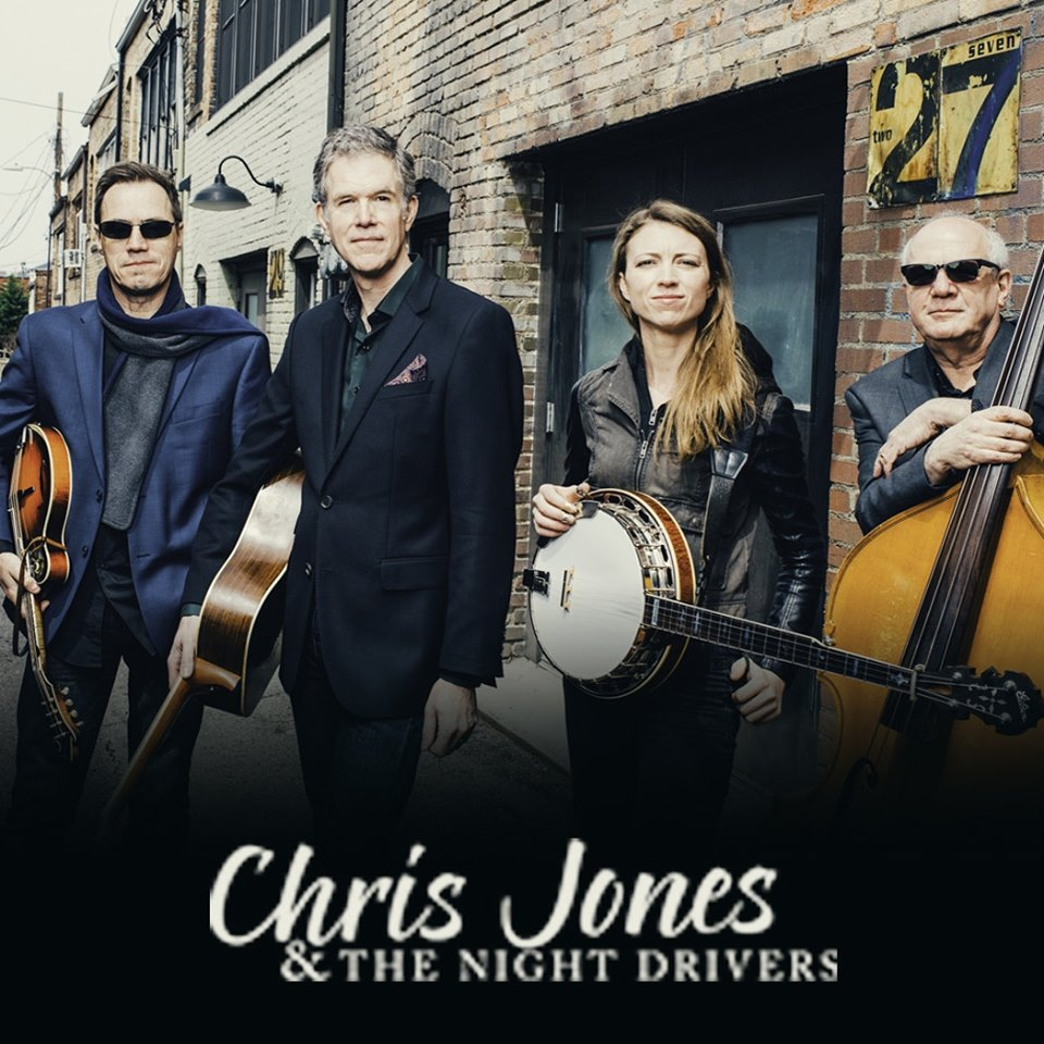 CHRIS JONES & THE NIGHT DRIVERS @ Free Range Brewing
