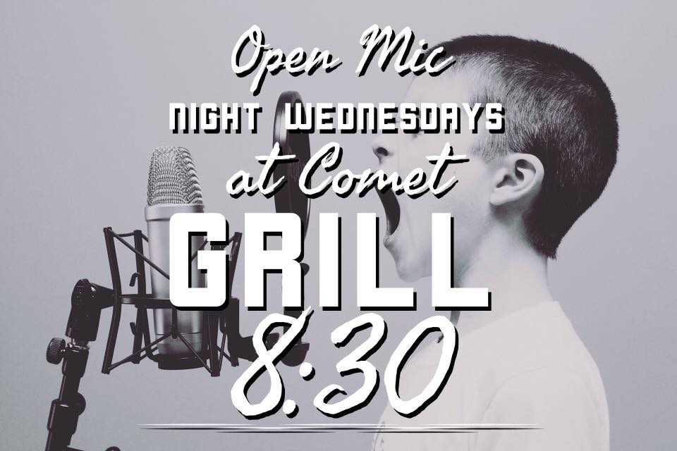 OPEN MIC WITH LEEBO @ Comet Grill