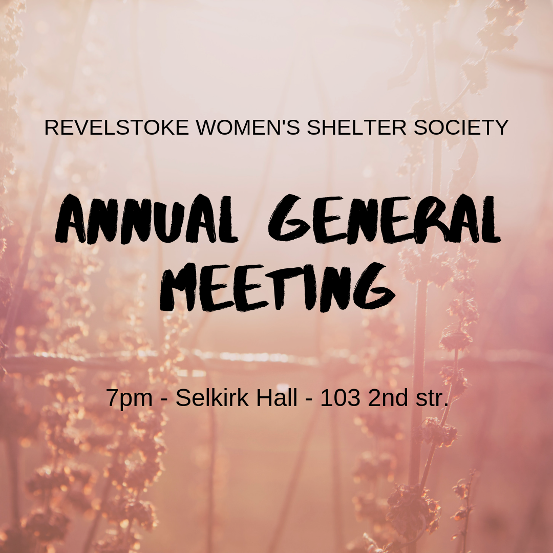 Annual General Meeting @ 103 2nd Street