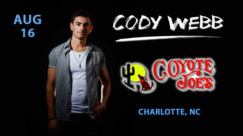 Cody Webb LIVE at Coyote Joe's @ Coyote Joe's