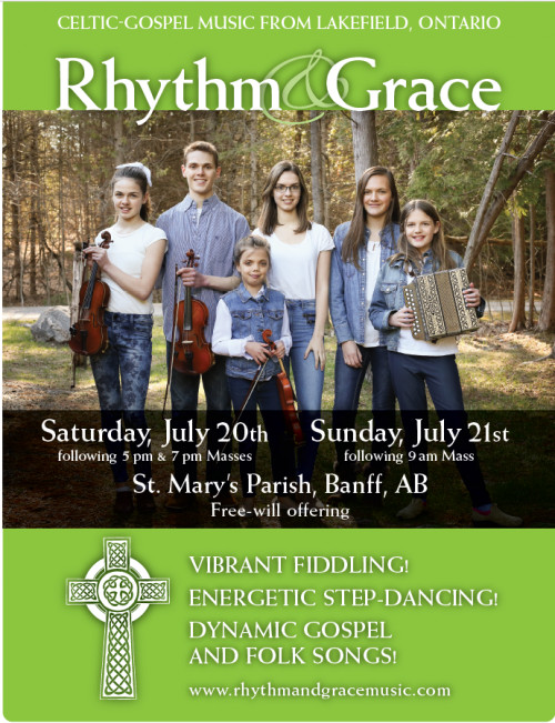 CONCERT: Rhythm & Grace Celtic - Gospel Music