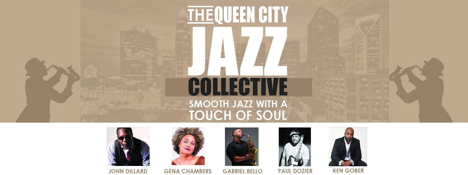 QUEEN CITY JAZZ COLLECTIVE 7:30pm show @ Stage Door Theater