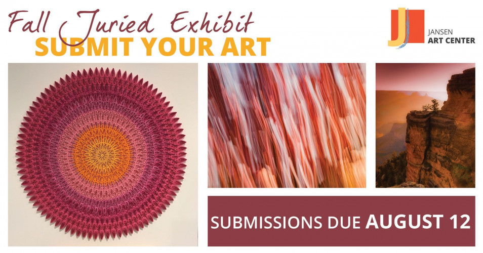 Call to Artists: 2019 Fall Juried Exhibit