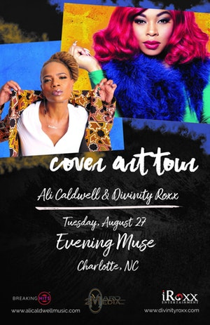 Ali Caldwell - The Cover Art Tour, feat Divinity Roxx @ The Evening Muse