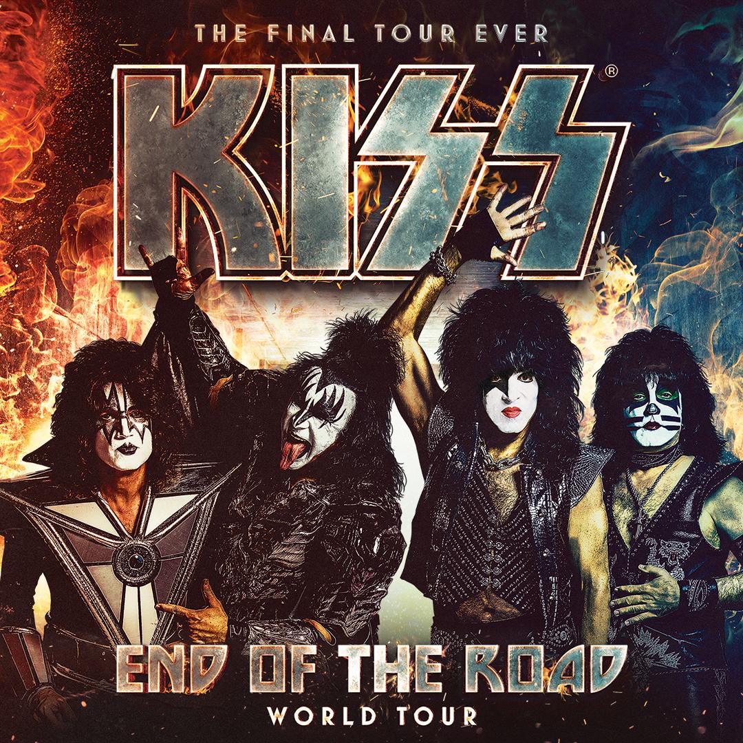 KISS: End of the Road World Tour @ PNC Music Pavillion