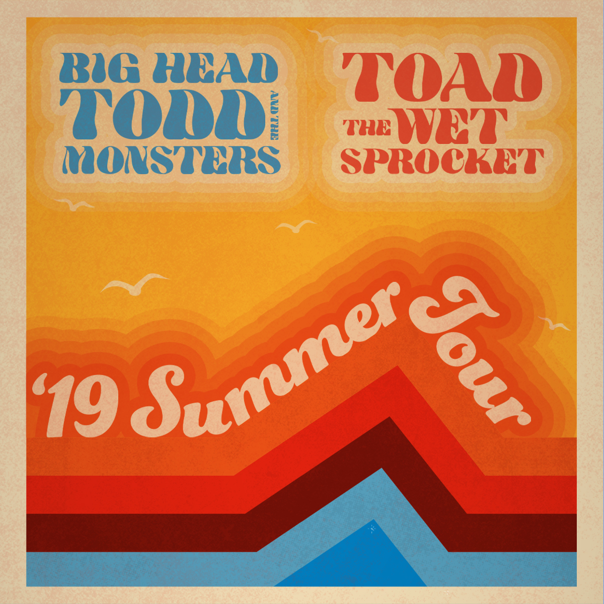 Big Head Todd and the Monsters + Toad the Wet Sprocket @ Charlotte Metro Credit Union Amphitheatre