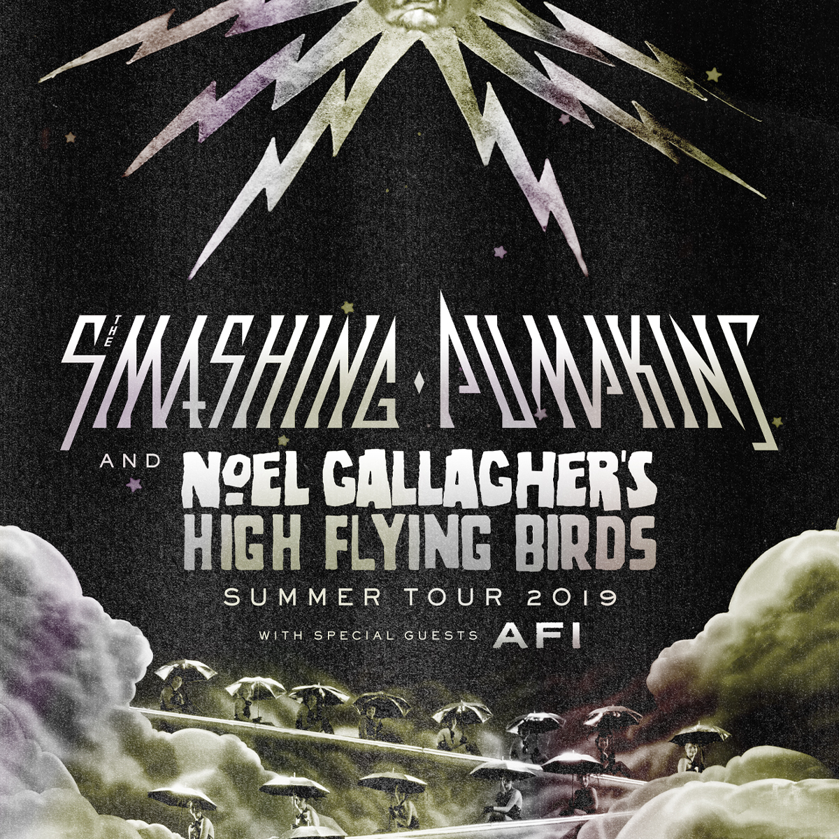 The Smashing Pumpkins & Noel Gallagher's High Flying Birds with special guests AFI @ PNC Music Pavillion