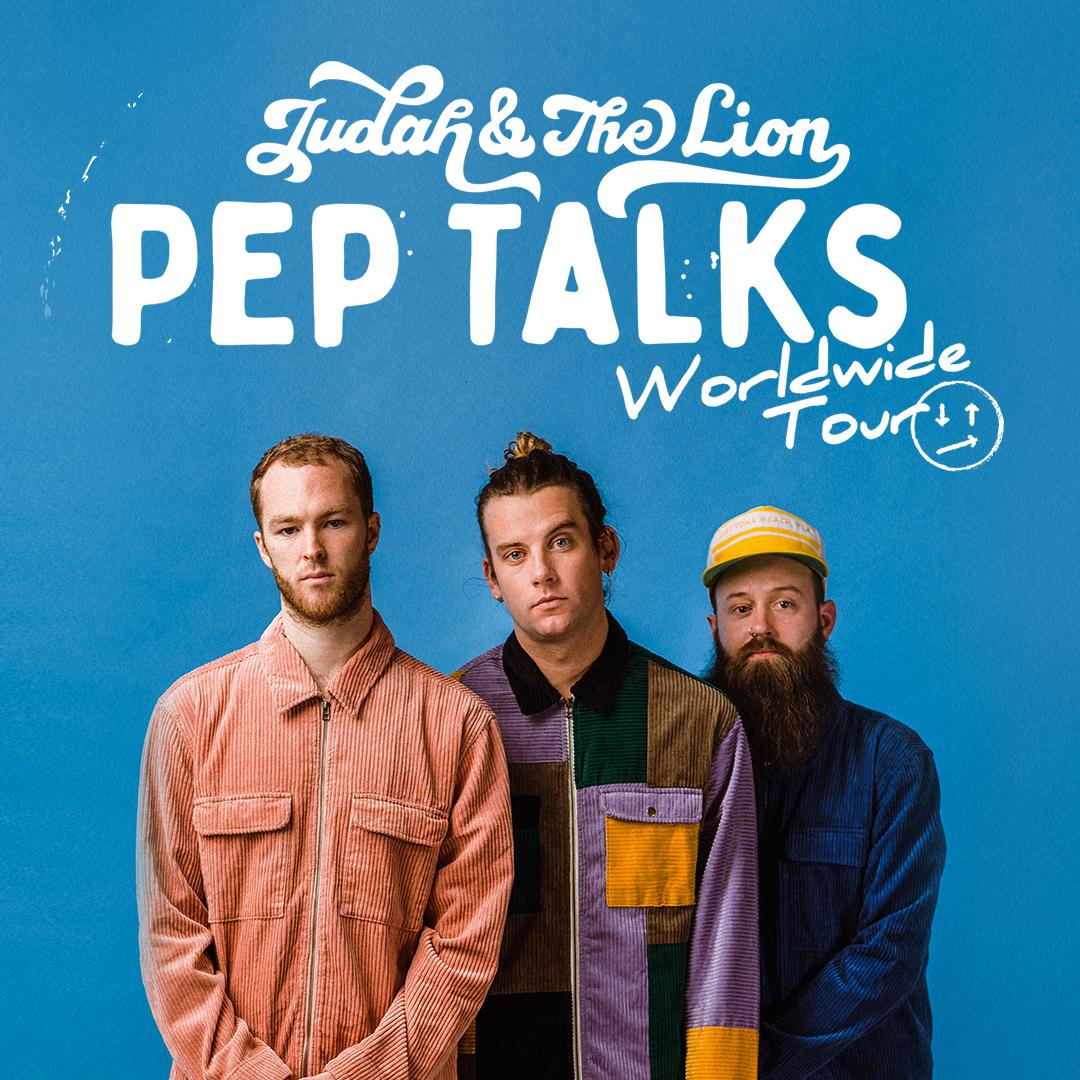 Judah & the Lion: Pep Talks World Wide Tour with Flora Cash @ Charlotte Metro Credit Union Amphitheatre