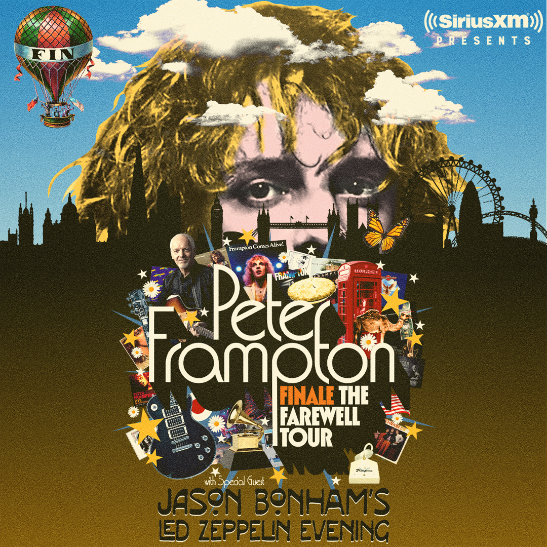 Peter Frampton FINALE - The Farewell Tour with special guest Jason Bonham's Led Zeppelin Evening presented by SiriusXM @ PNC Music Pavillion