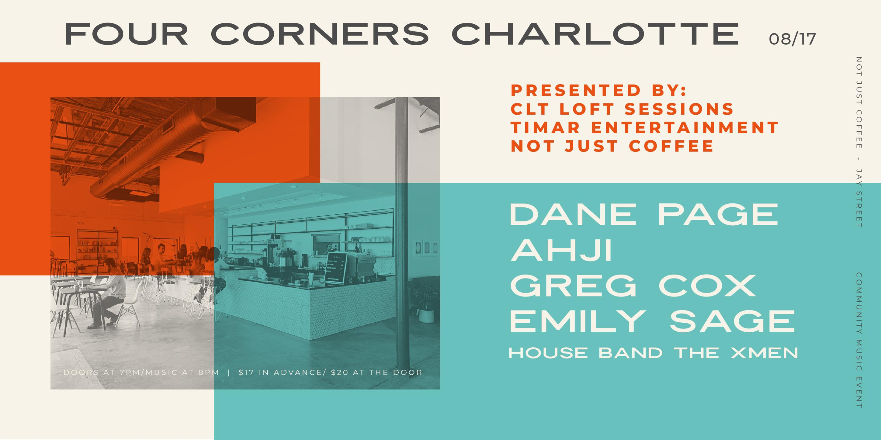 Four Corners Charlotte @ Not Just Coffee - Jay Street