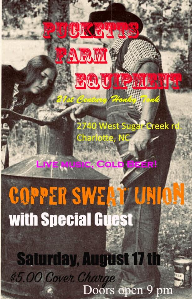 Copper Sweat Union @ Puckett's