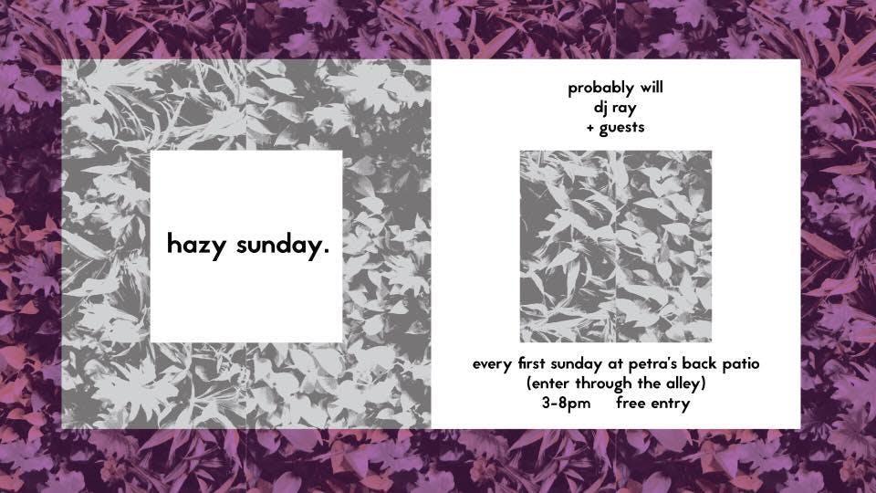 Hazy Sunday @ Petra's