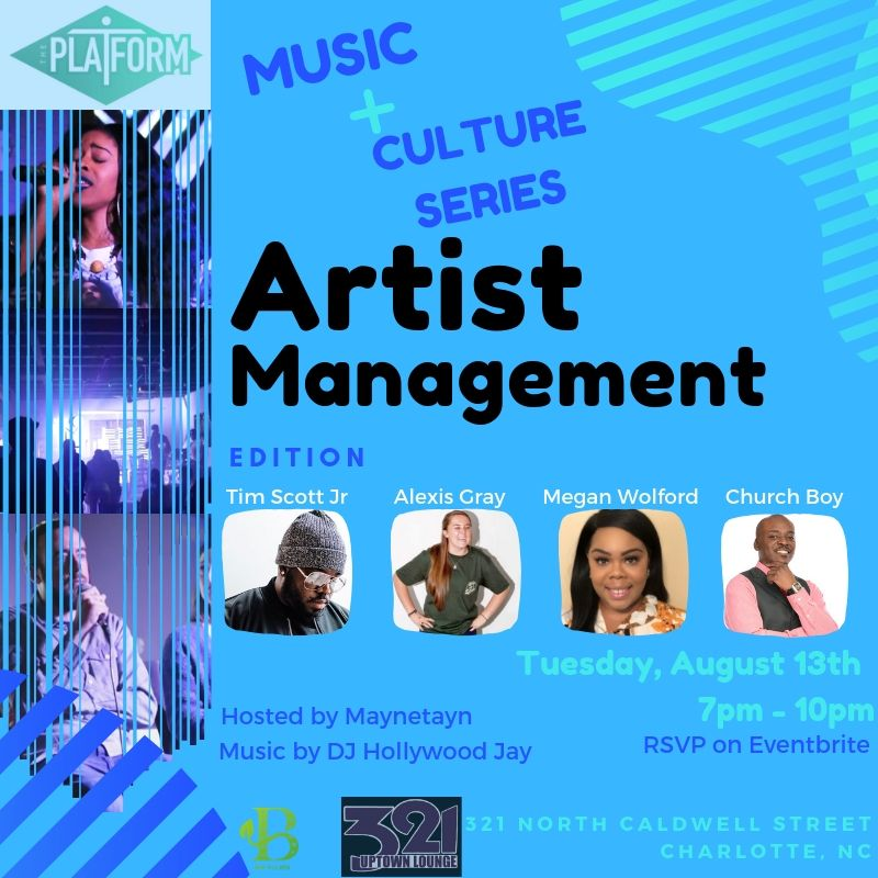 The Platform Music + Culture Series | Artist Management Edition @ 321 Bar & Lounge