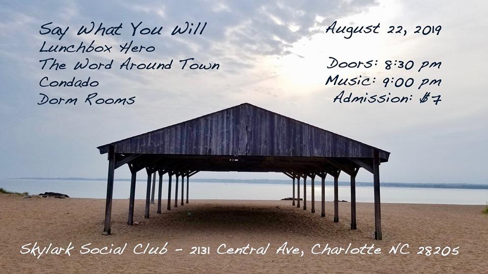 SWYW/Dorm Rooms/LunchBox Hero/Condado/The Word Around Town @ Skylark Social Club