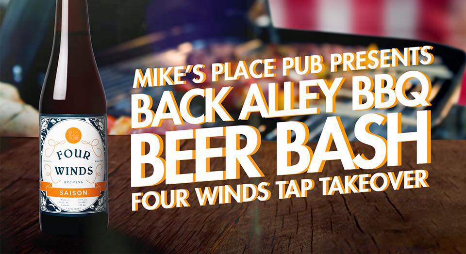 Back Alley BBQ Beer Bash at Mike's Place Pub @ Hume Hotel
