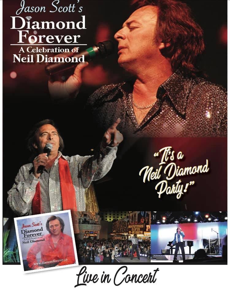 Jason Scott's diamonds are forever Neil Diamond Tribute @ The Last Drop |  |  |